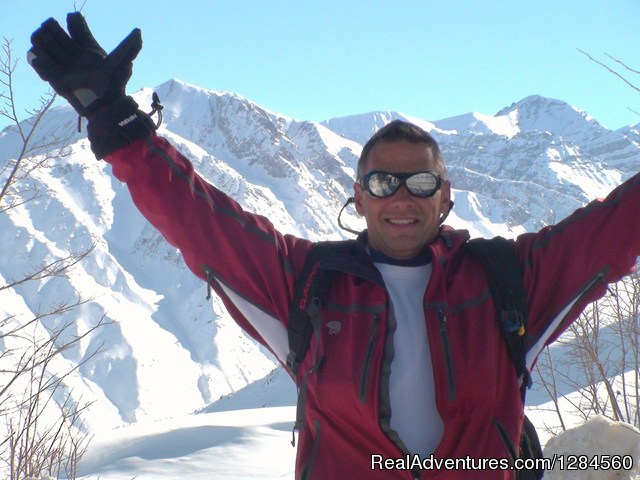 Chuck, your happy Host for the weeek - Single Ski Hub: Skiing and Snowboarding vacations