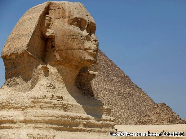 Pyramids & Sphinx - Cairo & Nile cruise with flight