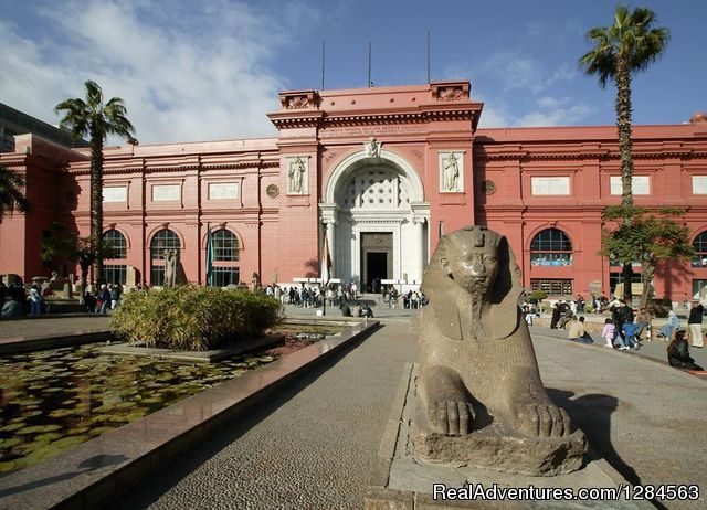 Egyptian Museum Cairo - Cairo & Nile cruise with flight