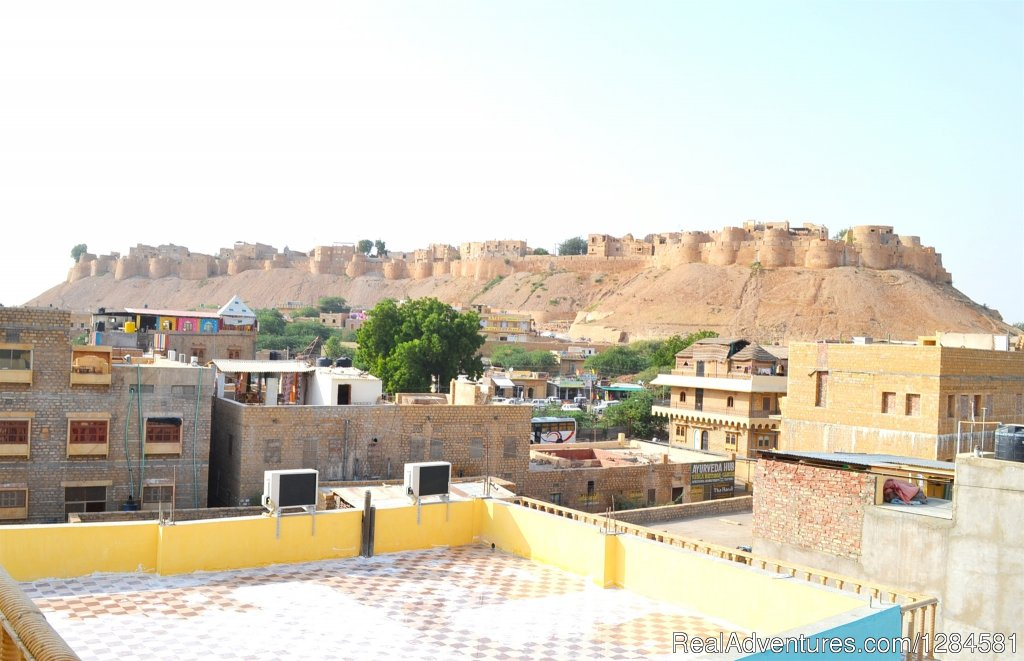 Fort View On Roof Top Restaurant | Image #1/15 | Rajasthan, India | Bed & Breakfasts | Hotel Rana Villa