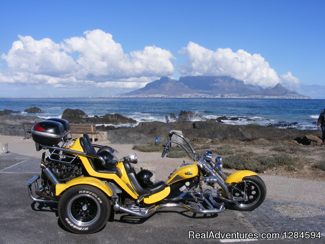 Cape Town Trike Tours Cape Town, South Africa Motorcycle Tours