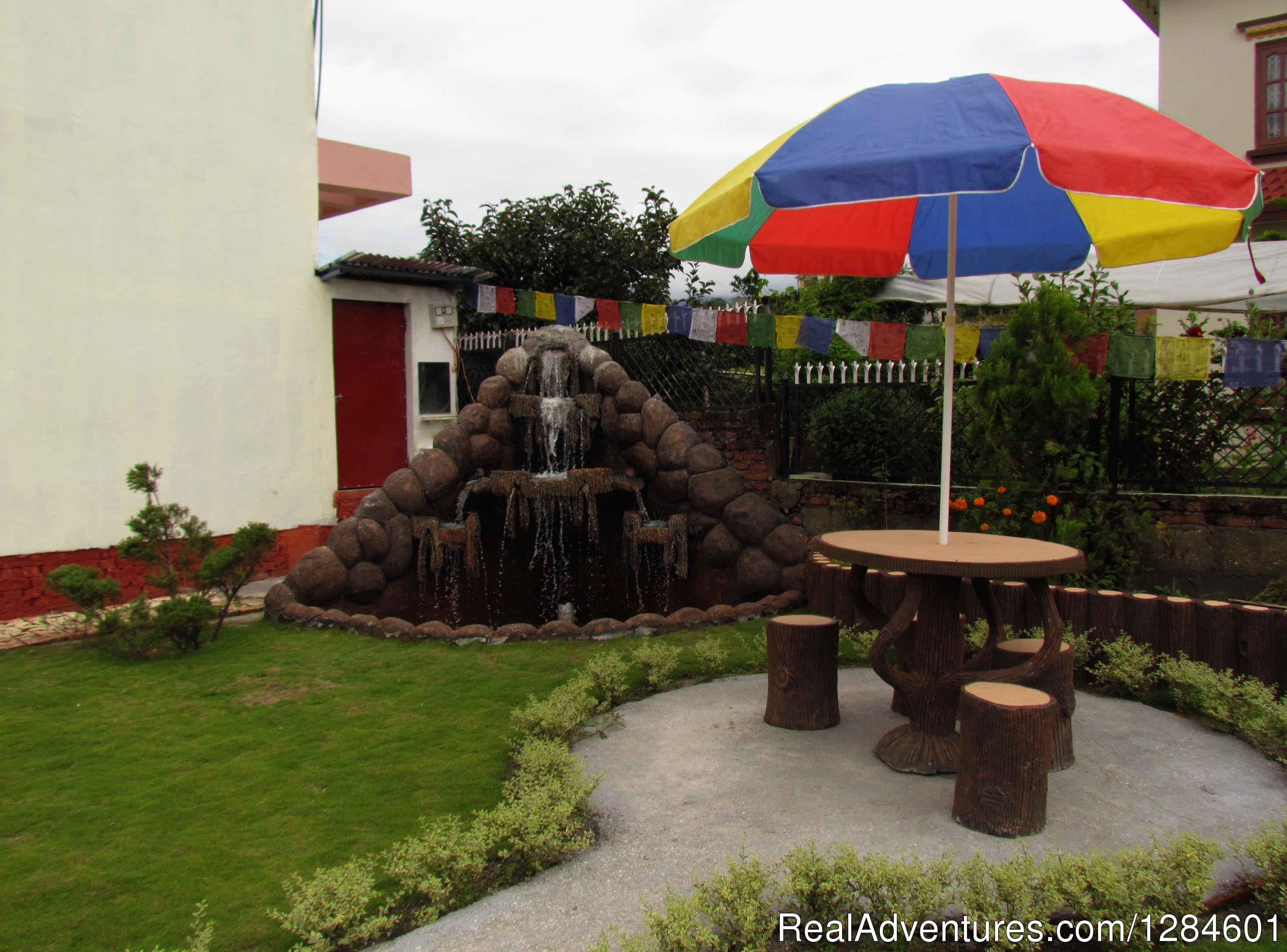 Tranquil fountain | Image #2/5 | Cosy Countryside Homestay in Kathmandu