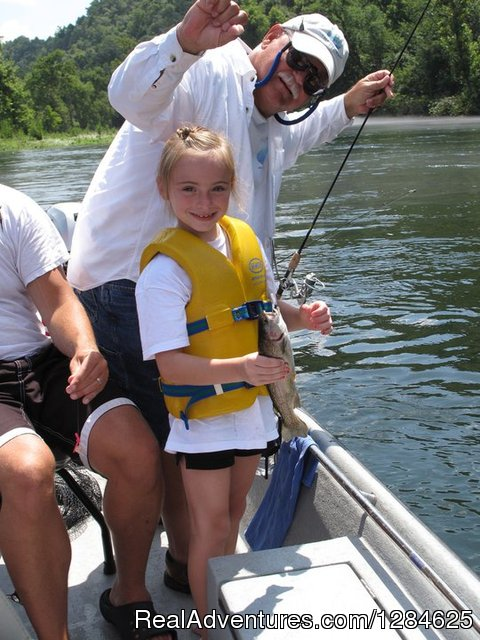 Papa Bill's White River Trout Guide Service, Bull Shoals, Ar - White River Trout Guide and Family Fishing
