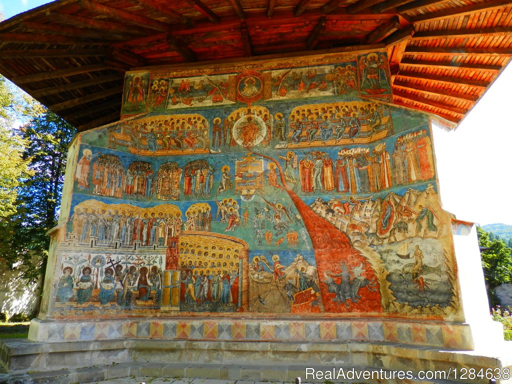 Voronet Monastery | Image #7/26 | Discover Authentic Romania - 3 to 12 day tour