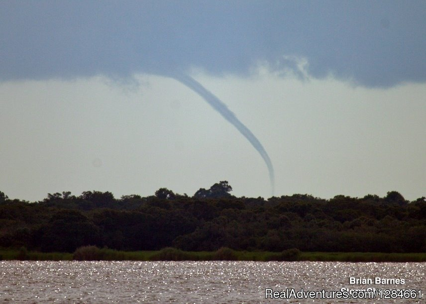Florida waterspout Chasing