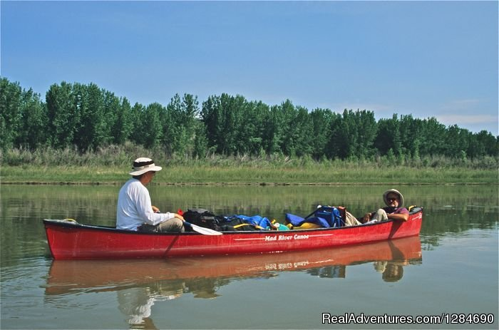 Relaxed Canoeing | Image #12/12 | Big Wild Adventures