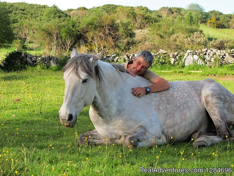 A program of 8 days, 7 nights (Sunday to Sunday) or 5 days, 4 nights (Sunday to Thursday) so you can fully enjoy your vacation in nature riding a beautiful Lusitano horse, breathe fresh air and return energy to your body and soul in complete harmony