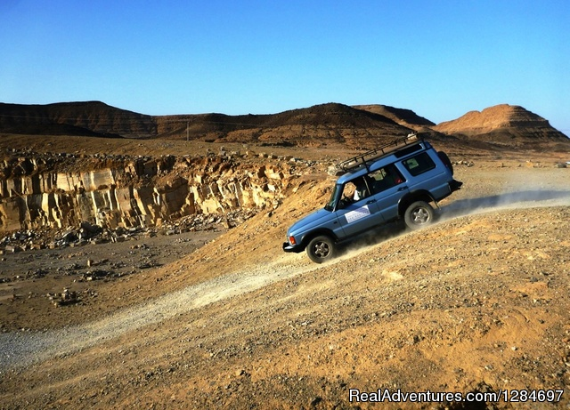 Desert activities in Mitzpe Ramon