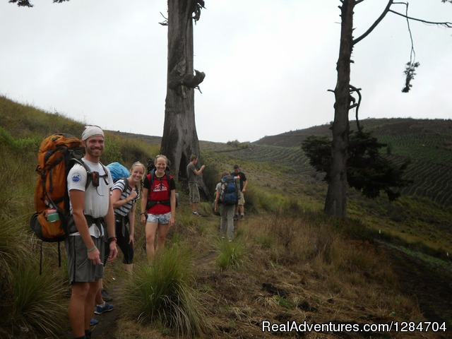 Xela to Atitlan Lake/ Trekking