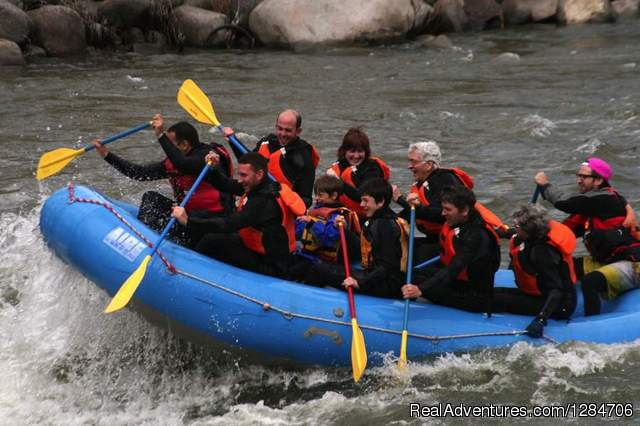 Flying Pig Adventure Company - Whitewater rafting Gardiner, Montana Rafting Trips