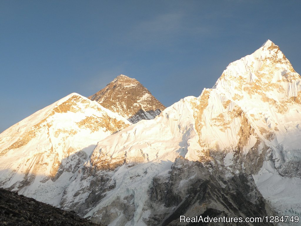 Sunset view of Mount Everest