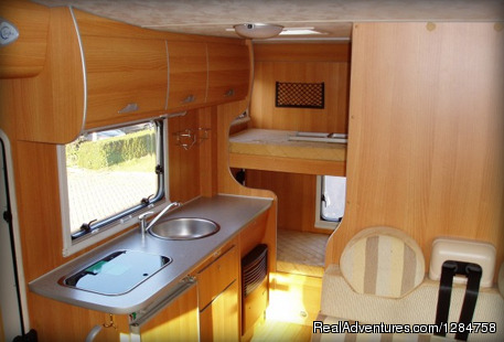 Kitchen - Rent a motorhome and explore Europe