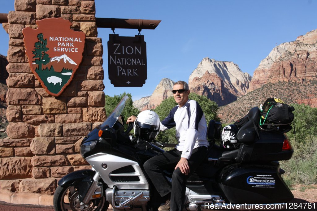 Zion National Park is a Disney Park for riders | Image #6/20 | Touring Motorcycles Rental And Accommodations