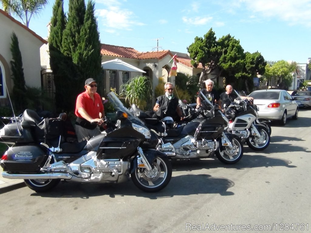 Our friends from Italy come every year | Image #7/20 | Touring Motorcycles Rental And Accommodations