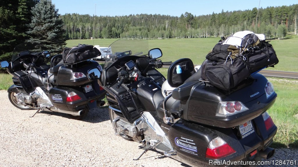 On the way to Yellowstone on 2 WHEELS...DELUXE | Image #11/20 | Touring Motorcycles Rental And Accommodations