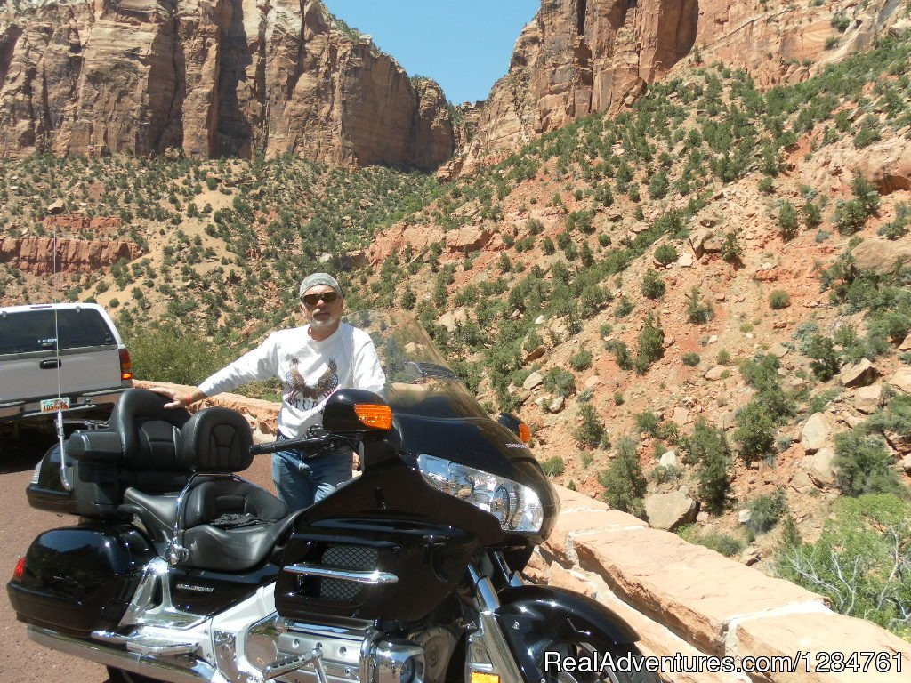 National Parks in Utah on 2 WHEELS...DELUXE unique | Image #17/20 | Touring Motorcycles Rental And Accommodations