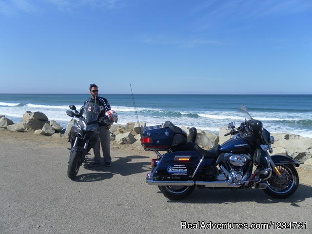 Riding on Pacific Coast is something unforgettable - Touring Motorcycles Rental And Accommodations