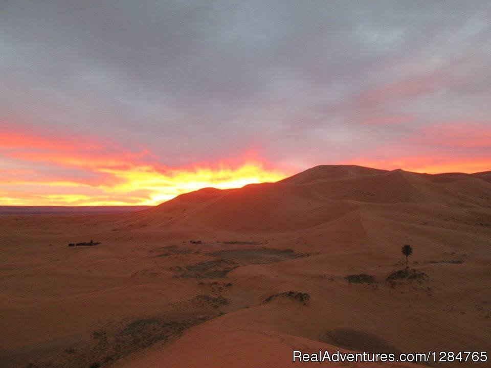 Sunset in Desert | Image #4/4 | Morocco Sahara Tours from Marrakech