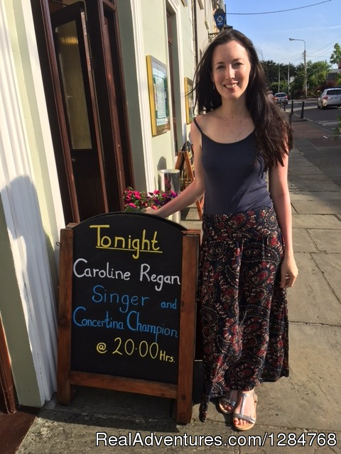 Caroline Regan Musician - Irish Music Entertainment at Rathbaun Hotel