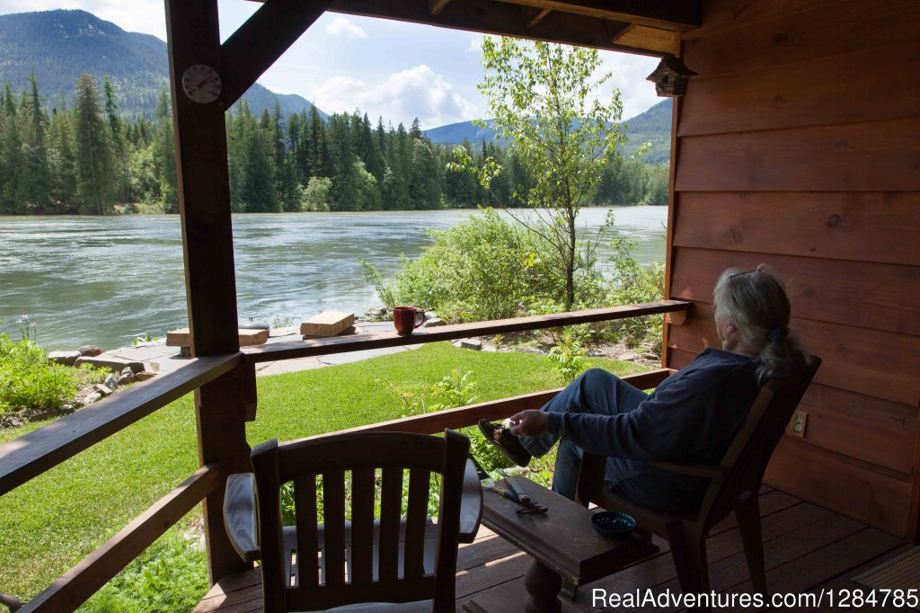 The River is Mesmerizing... | Image #9/12 | Enchanting Waterfront Cabin Near Sandpoint Idaho