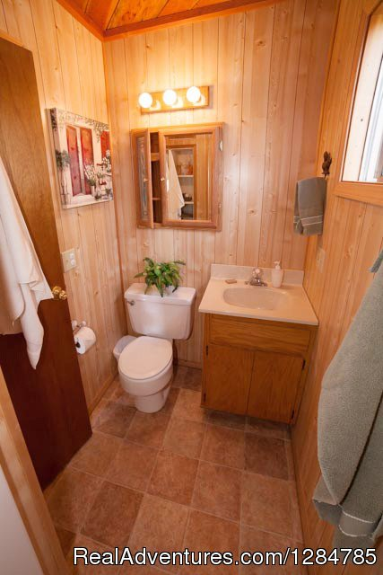 Indoor Plumbing - Sweet | Image #8/12 | Enchanting Waterfront Cabin Near Sandpoint Idaho