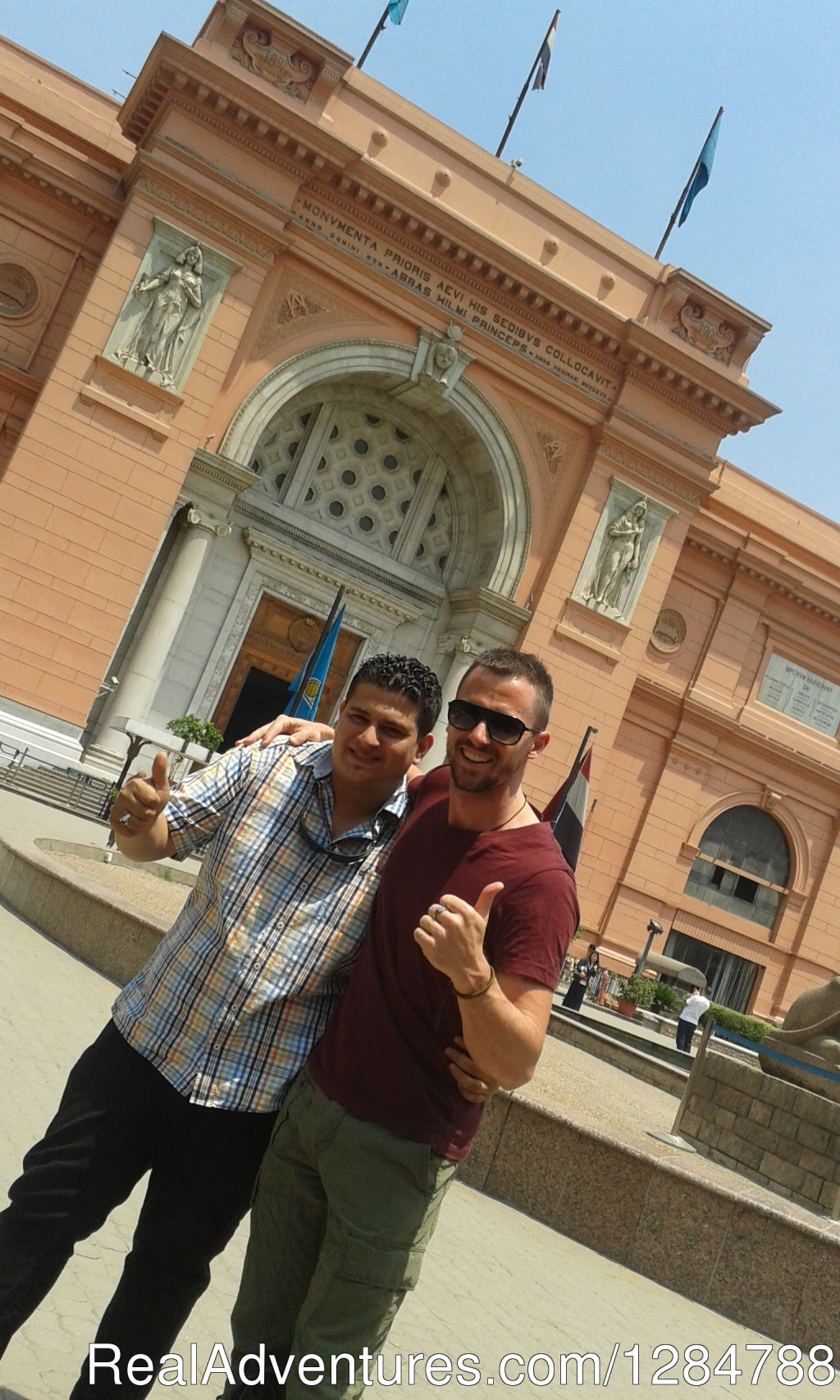 Our Guide With Our Tourist | Image #1/11 | Cairo, Egypt | Sight-Seeing Tours | Go discovery tours&travel At Egypt tours