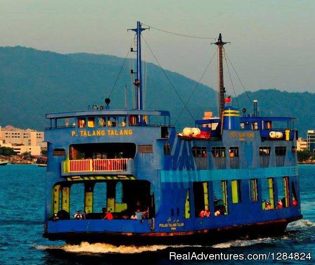 Penang Tour Channel George Town, Malaysia Eco Tours