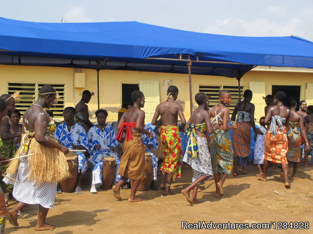 Cultural drumming and Dancing performance - Volunteer work and Eco-tourism