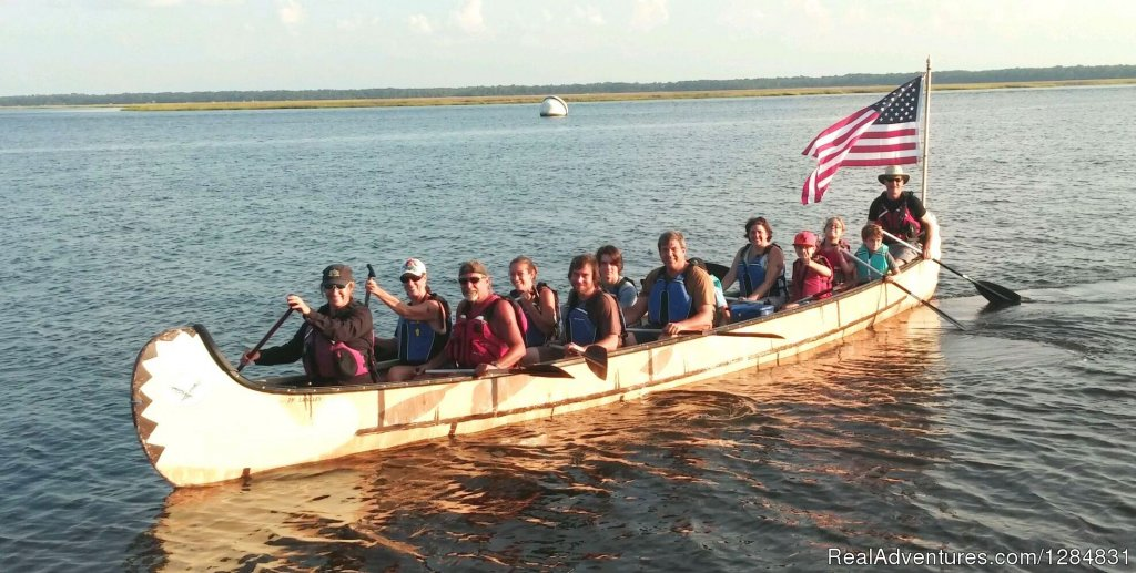 Outdoor Fun for Everyone | Image #4/7 | Guided War Canoe Adventures for Groups