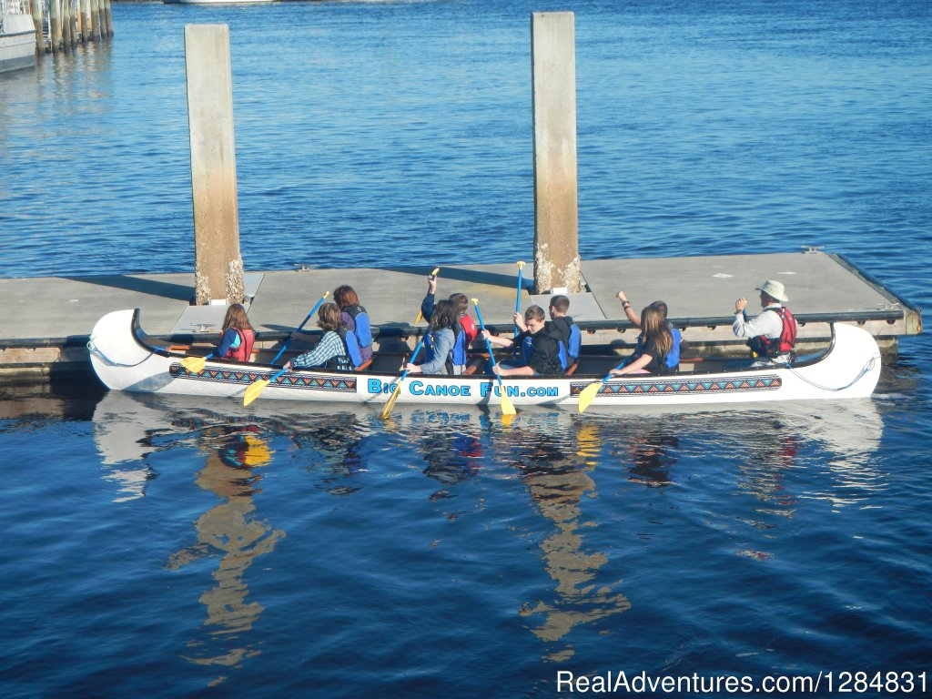 Back at the Dock | Image #7/7 | Guided War Canoe Adventures for Groups