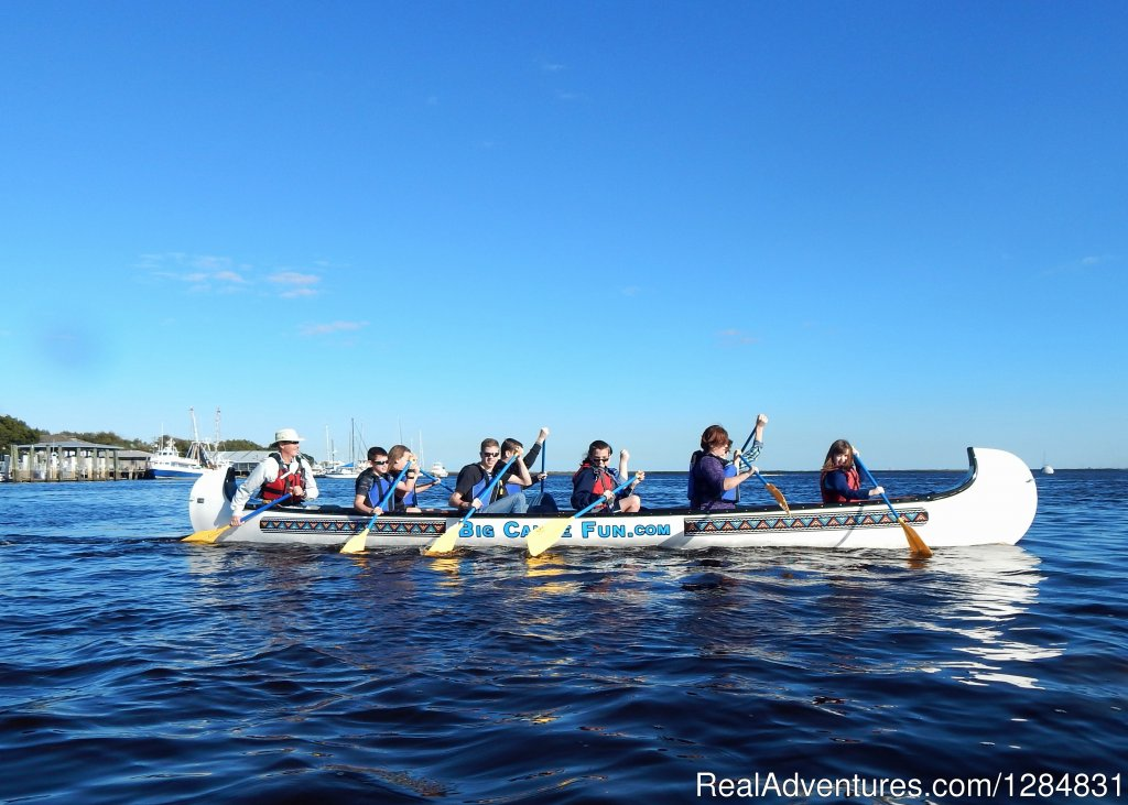 Guided Canoe Tour | Image #5/7 | Guided War Canoe Adventures for Groups