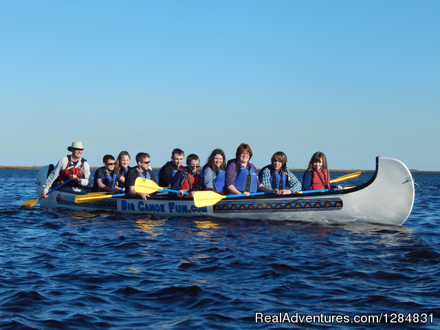 Guided War Canoe Adventures for Groups Fernandina Beach, Florida Kayaking & Canoeing