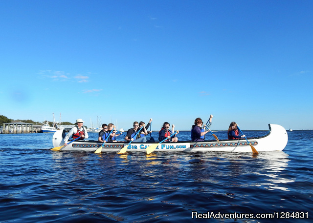Guided Canoe Tour - Guided War Canoe Adventures for Groups
