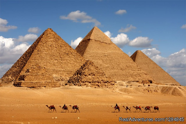 Giza Pyramids. - Tour Egypt in affordable cost with (Egypt Sunset)