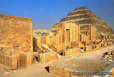 Saqara Complex - Tour Egypt in affordable cost with (Egypt Sunset)