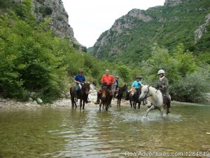 Albanian Cultural Horse Riding Trails Abbeville, Albania Horseback Riding