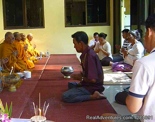 Buddhist Ceremony at Suryamuni Healing Center - Suryamuni Healing Center