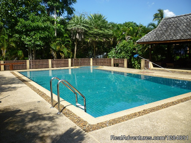 Your Accomodation - Garden swimming pool