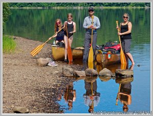 Guided Canoe & Kayak Tours into Algonquin Park Kayaking & Canoeing Whitney, Ontario