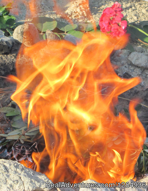Shakti fire burning - Aphrodite's Call Women Retreat