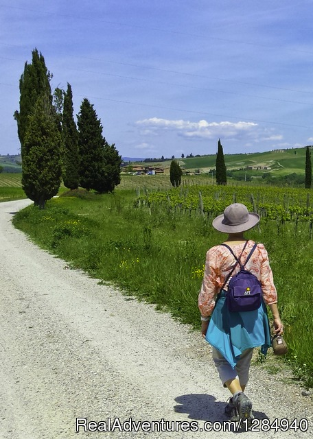 Tuscany Hilltop Towns Walking Tour May 8-15, 2016 Siena, Italy Hiking & Trekking