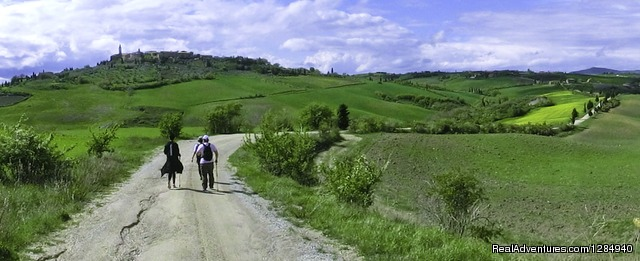 - Tuscany Hilltop Towns Walking Tour May 8-15, 2016