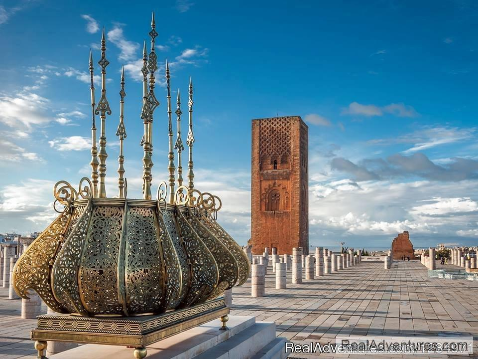 Hassan Mosque in Rabat | Image #1/6 | Fes Jadid, Morocco | Sight-Seeing Tours | Morocco Itinerary