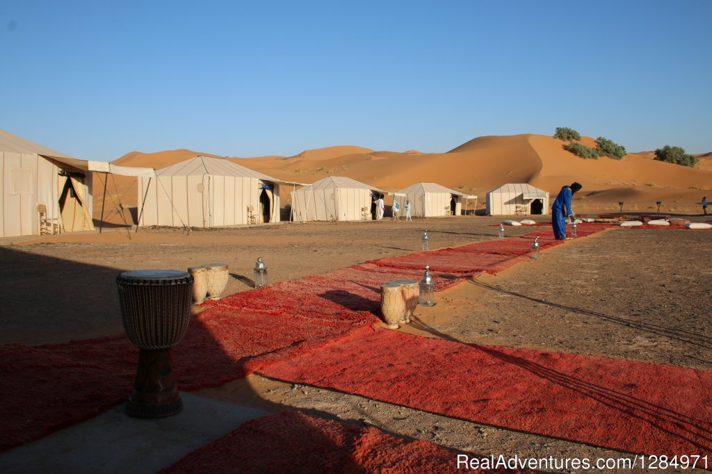 Luxury desert camp | Image #4/6 | Morocco Itinerary