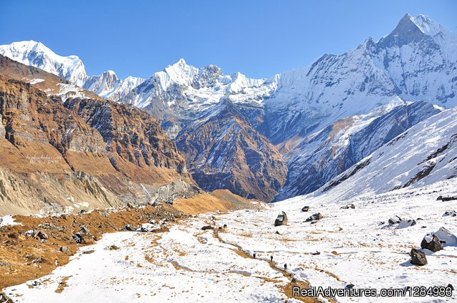 Trekking in Nepal, Annapurna base camp trek