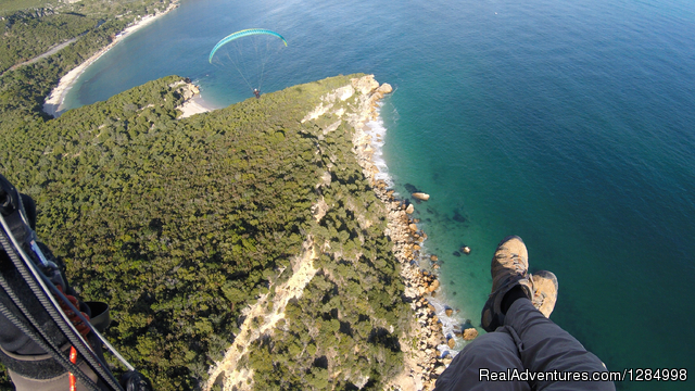Mountains and Beach, Thermalling and Soaring combination. - Paragliding guiding and tandem flights holidays