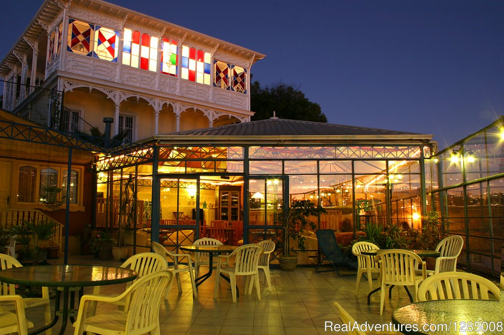 Terrace and Cateferia | Image #12/15 | Romantic German atmosphere Hotel in Vina del Mar