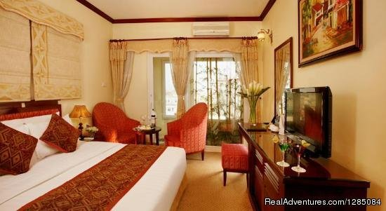Hotel Deluxe Room | Image #8/13 | An Nam Legend hotel - Luxury hotel in Hanoi