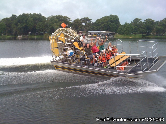 Florida AIRBOAT Rides - Tom & Jerry's Airboat Rides