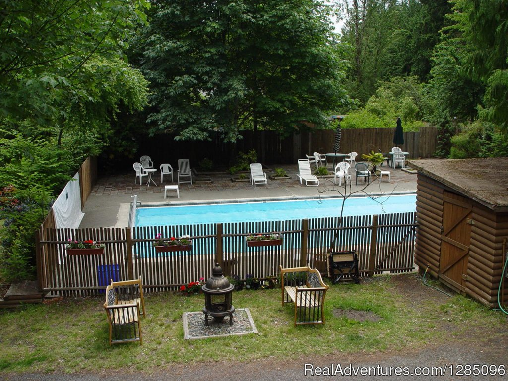 The Pool Area | Image #3/4 | Family Fun Camping in a Lovely Forest Setting